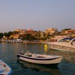 Kassiopi harbour 2 by Vera
