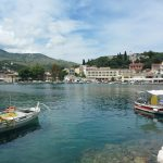 kassiopi harbour June 2014